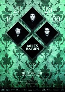 Miles Babies. Live in Divan.