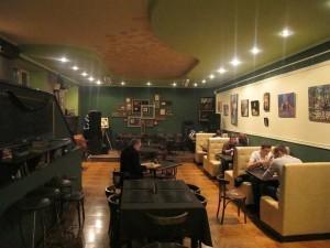 Зал арт-кафе
